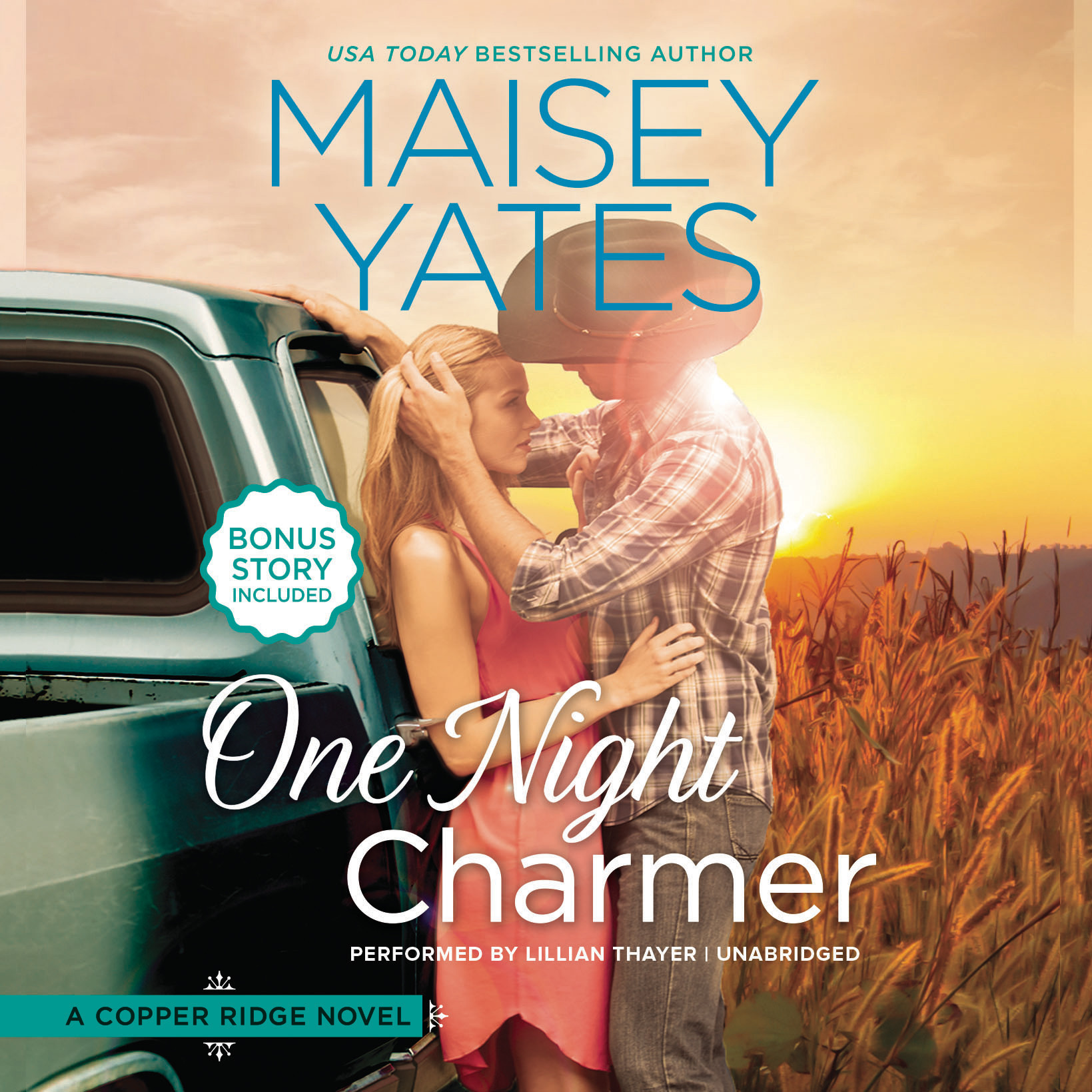 Printable One Night Charmer Audiobook Cover Art
