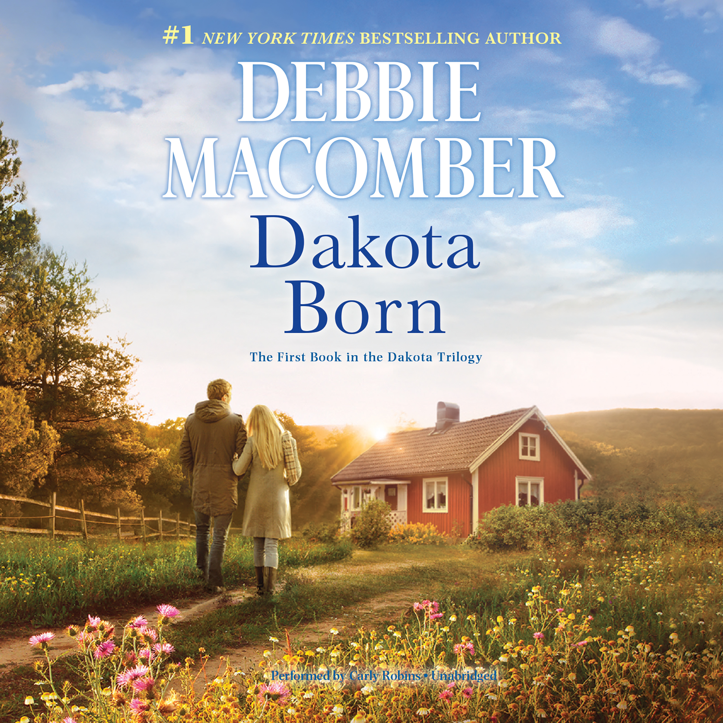 Printable Dakota Born Audiobook Cover Art