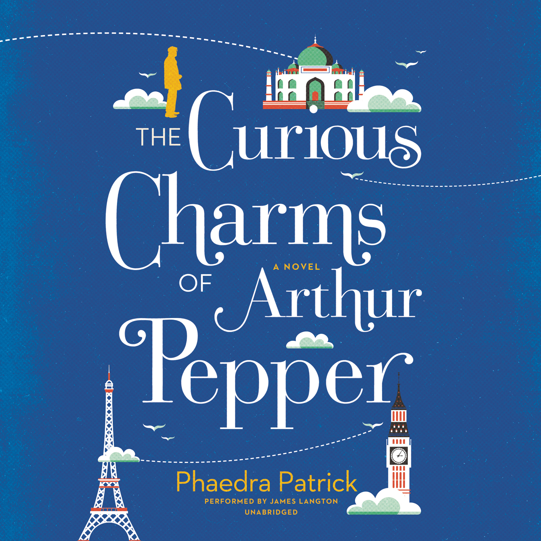 Printable The Curious Charms of Arthur Pepper Audiobook Cover Art