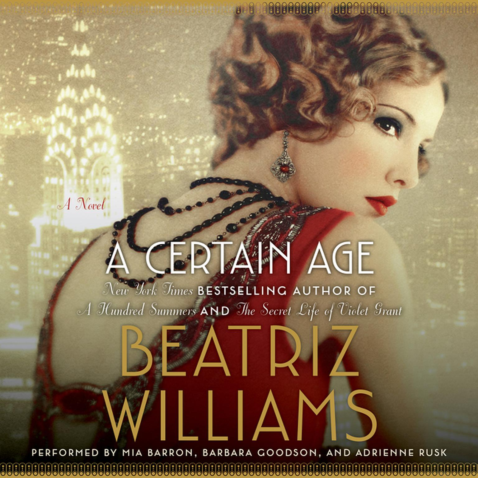 Printable A Certain Age: A Novel Audiobook Cover Art