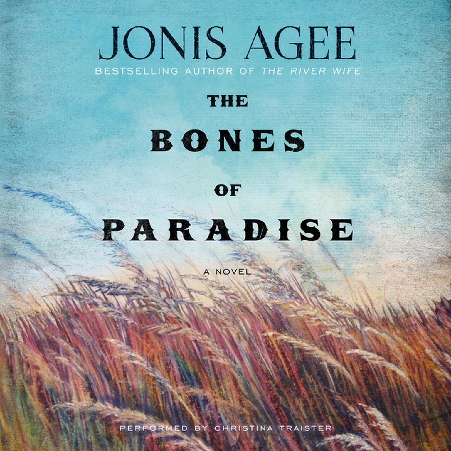 Printable Bones of Paradise: A Novel Audiobook Cover Art