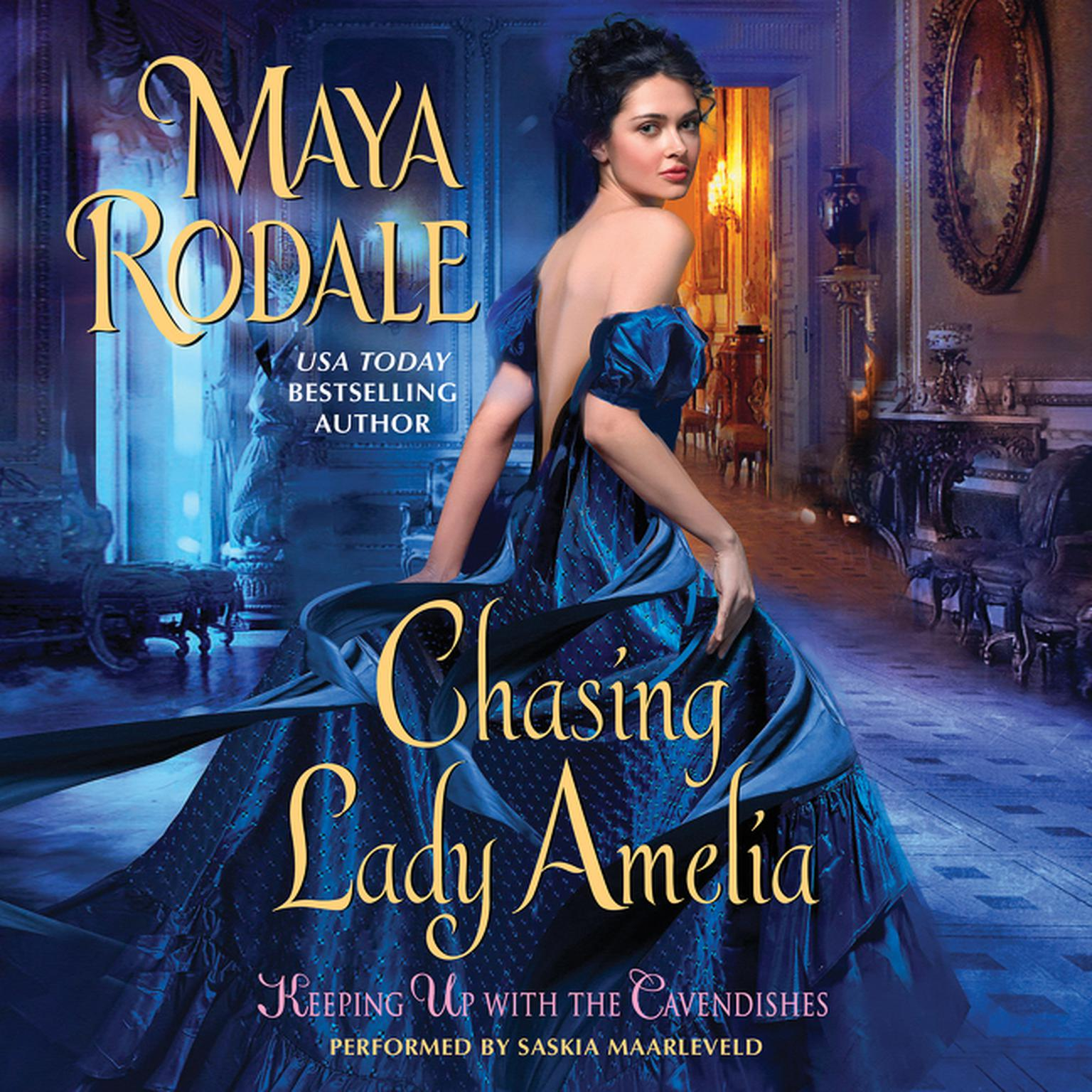 Printable Chasing Lady Amelia: Keeping Up with the Cavendishes Audiobook Cover Art