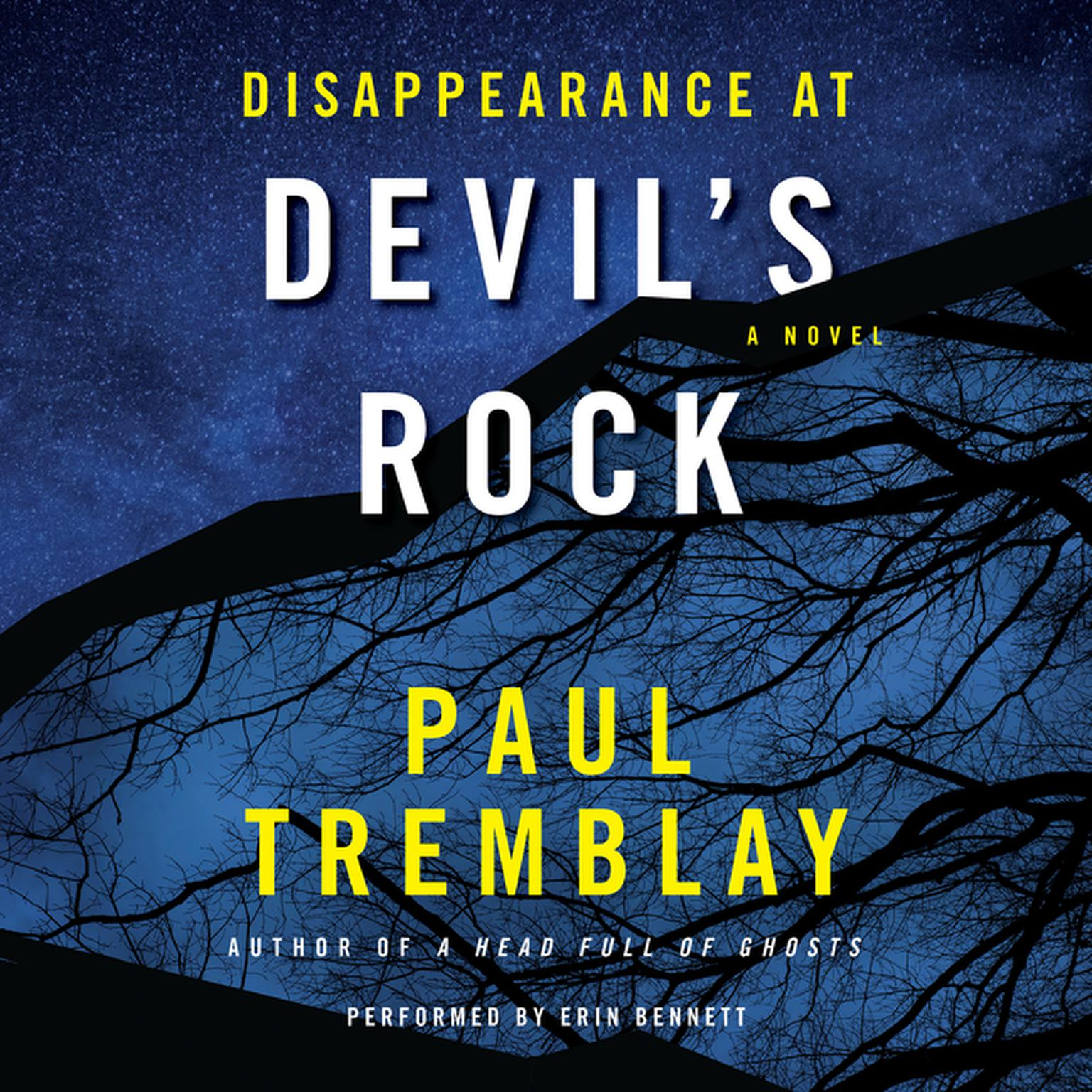 Printable Disappearance at Devil's Rock: A Novel Audiobook Cover Art