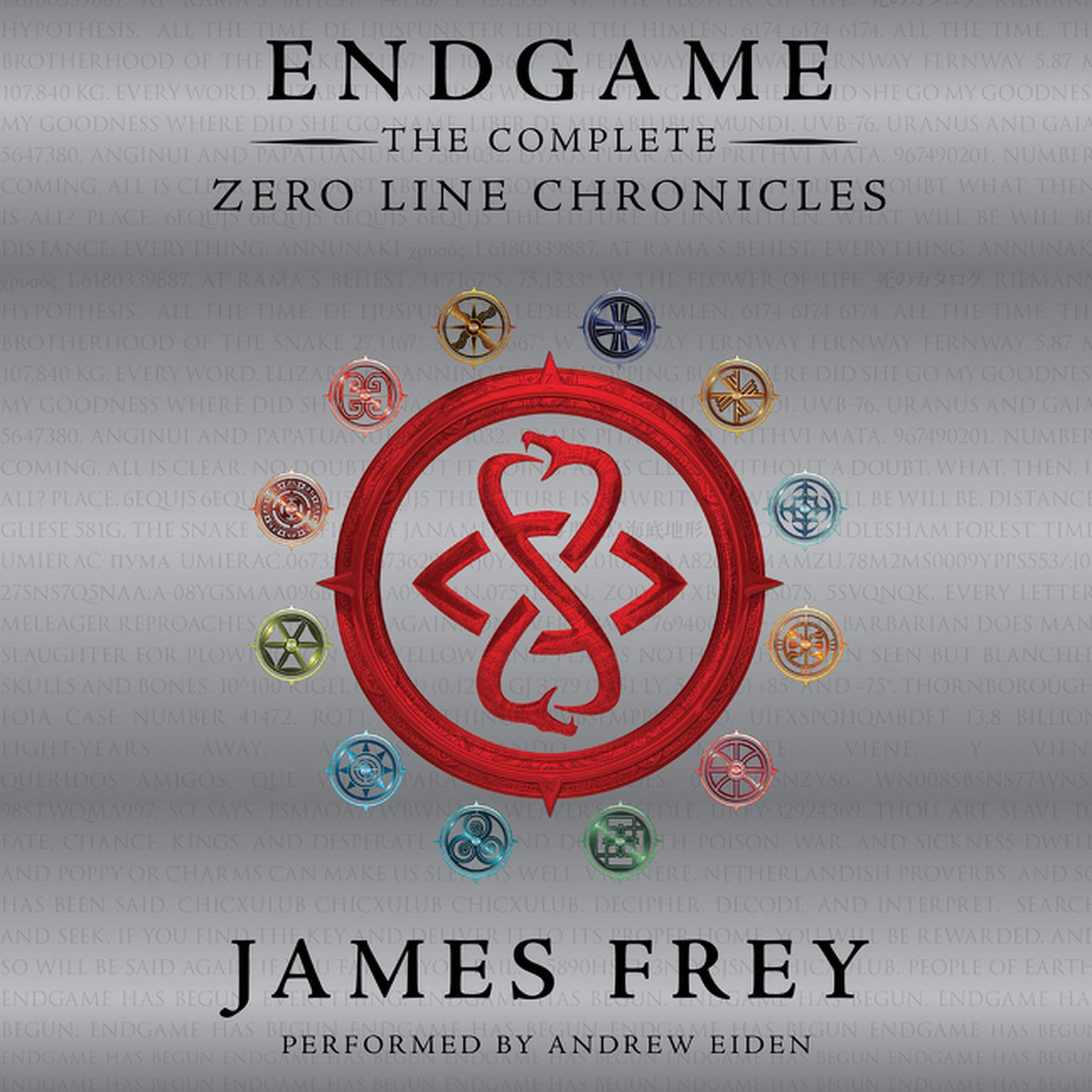 Printable Endgame: The Complete Zero Line Chronicles Audiobook Cover Art