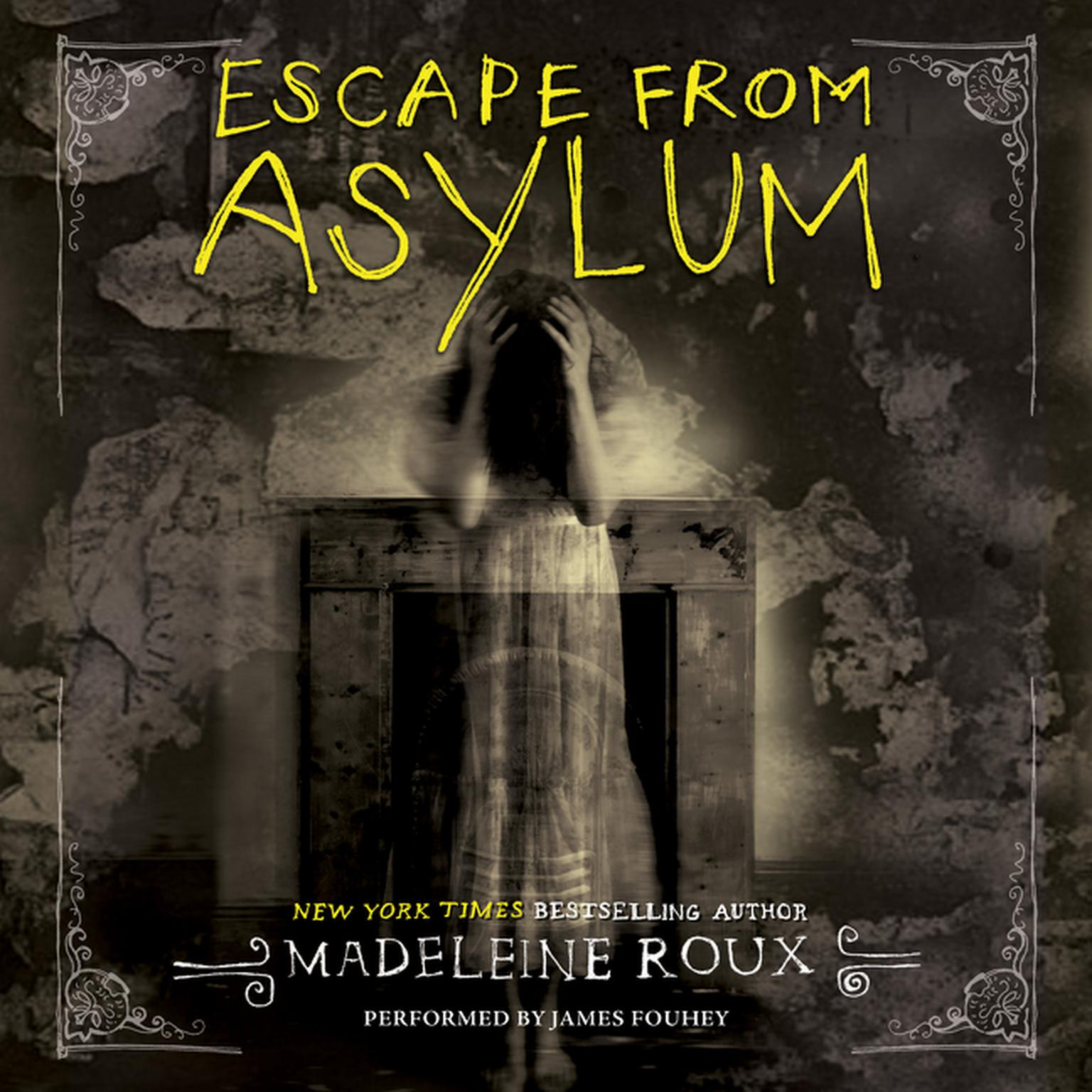 Printable Escape from Asylum: An Asylum Prequel Audiobook Cover Art