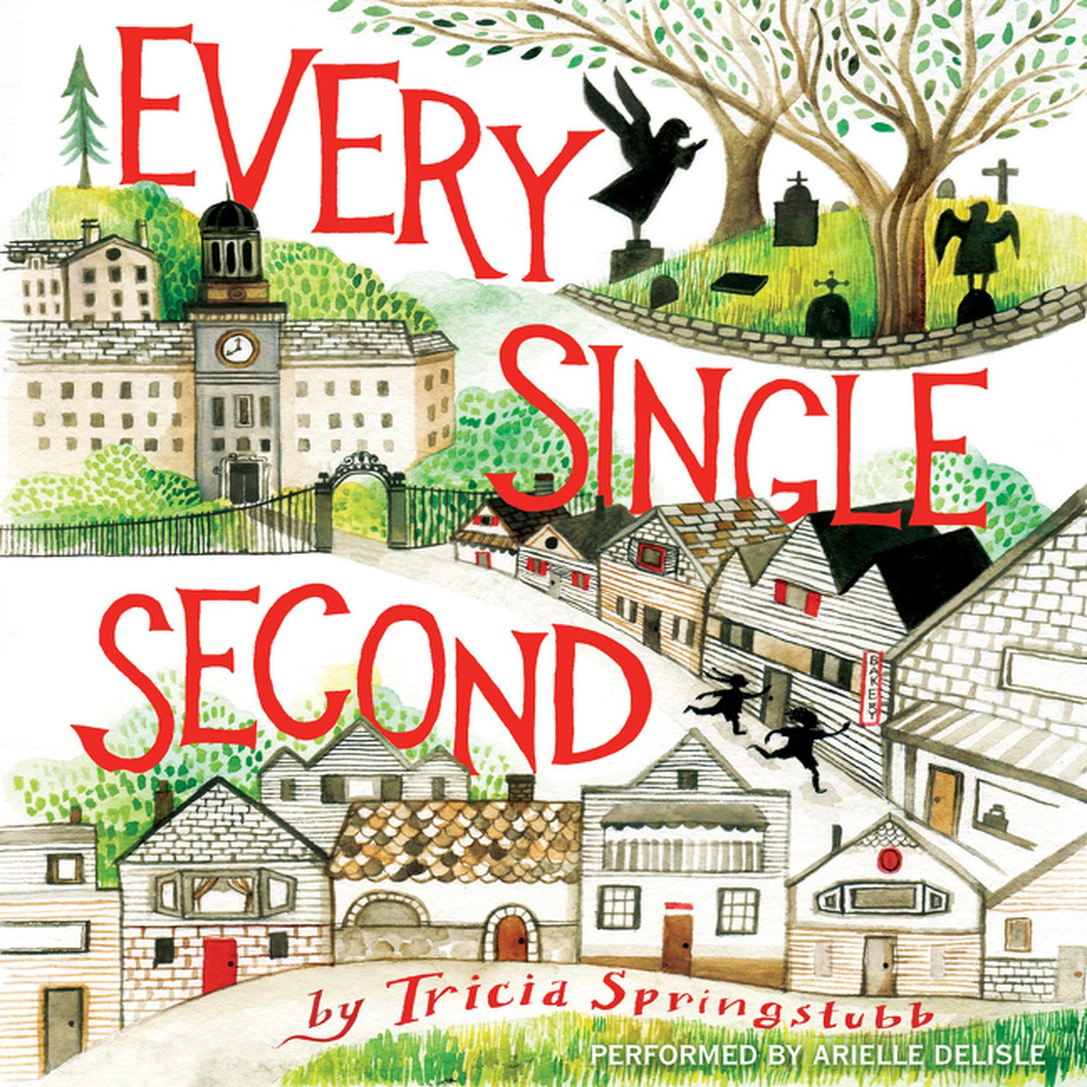 Printable Every Single Second Audiobook Cover Art