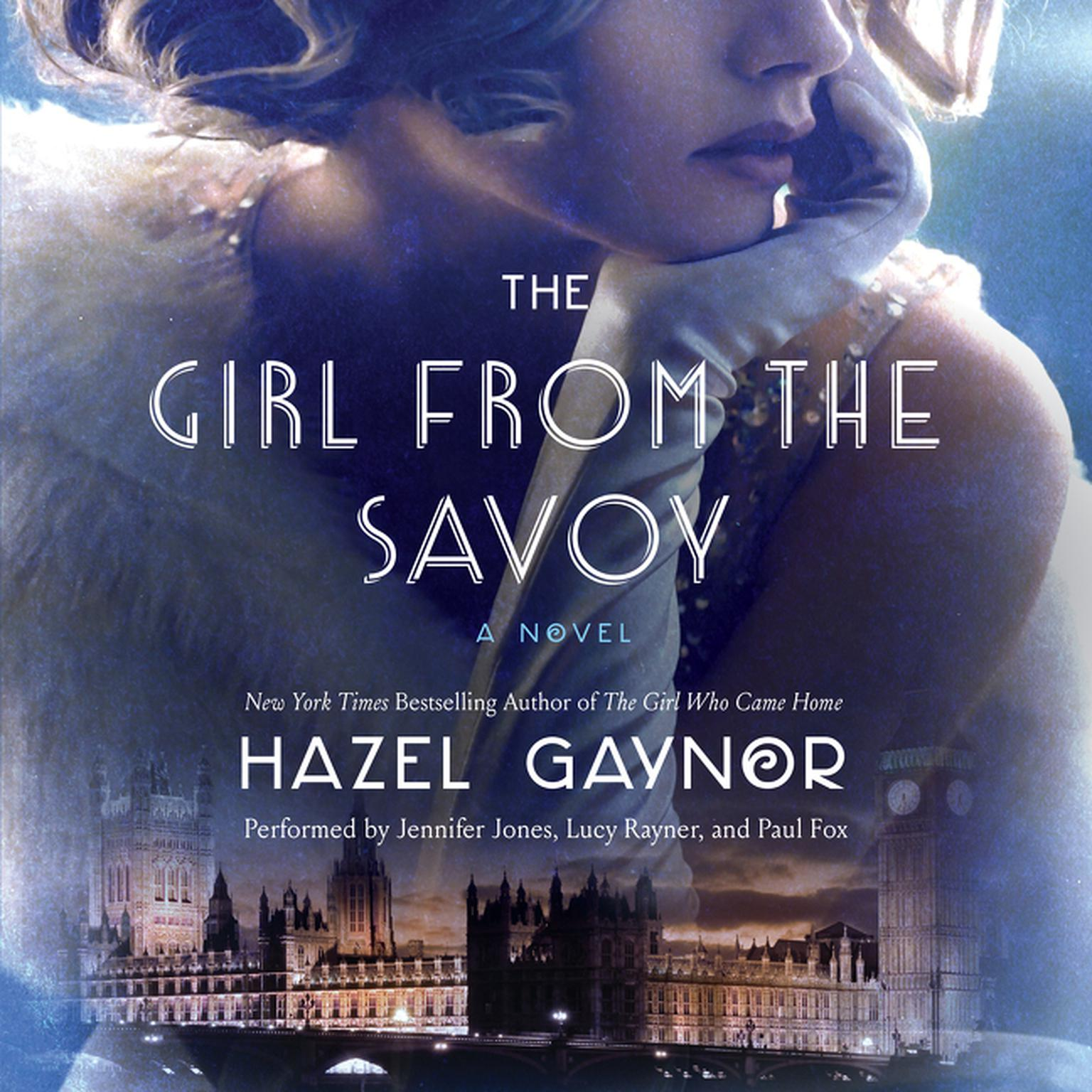 Printable The Girl from the Savoy Audiobook Cover Art
