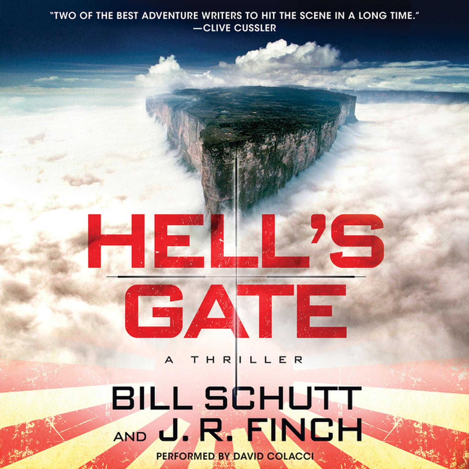 Printable Hell's Gate: A Thriller Audiobook Cover Art