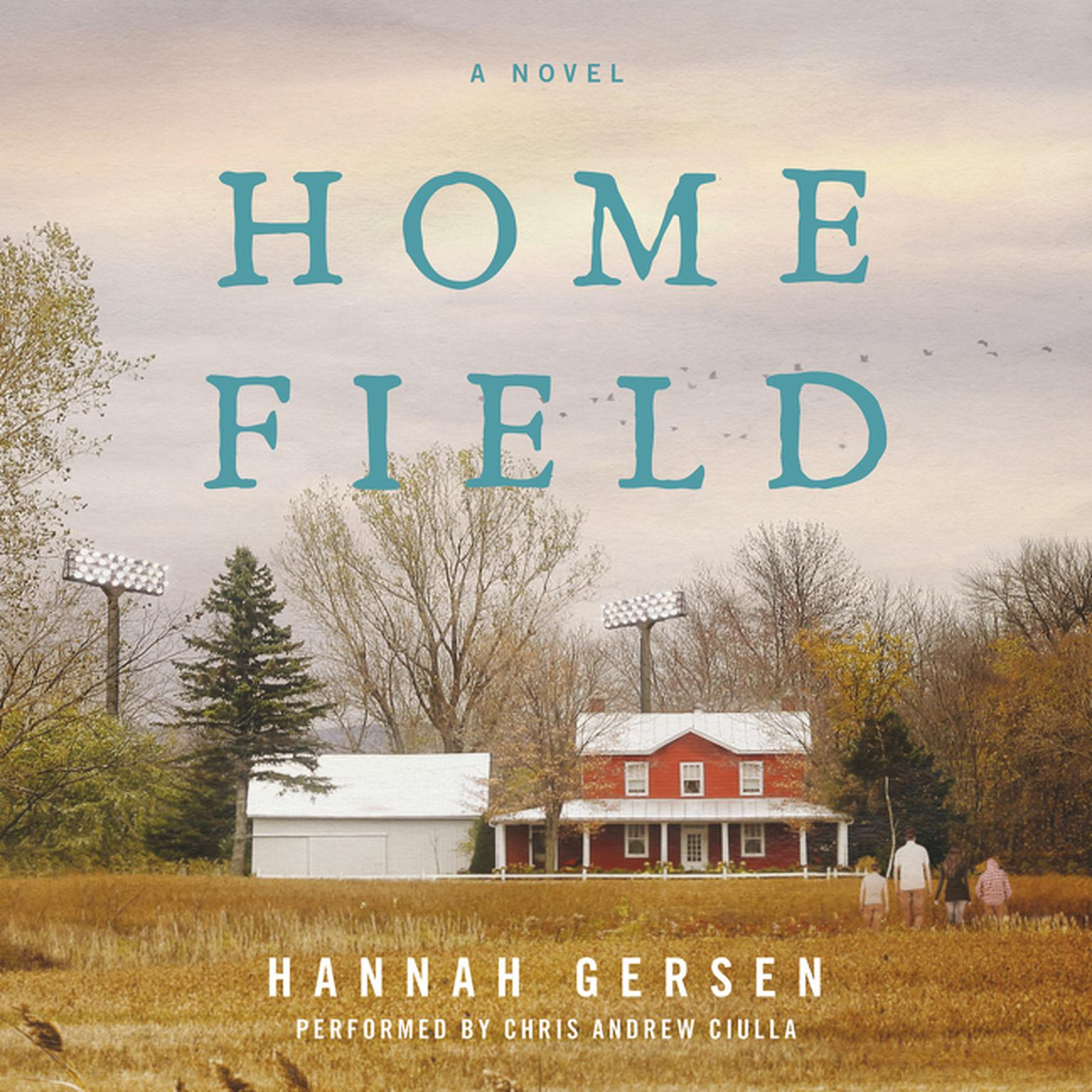 Printable Home Field: A Novel Audiobook Cover Art