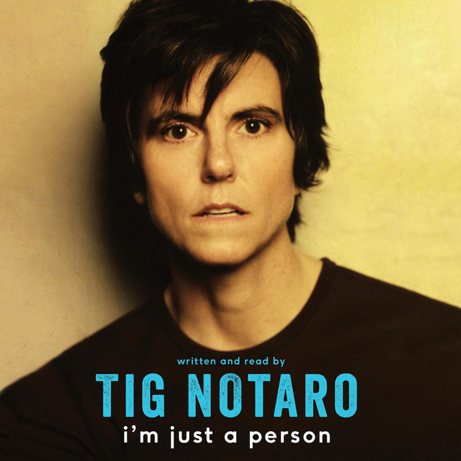 Printable I'm Just a Person Audiobook Cover Art