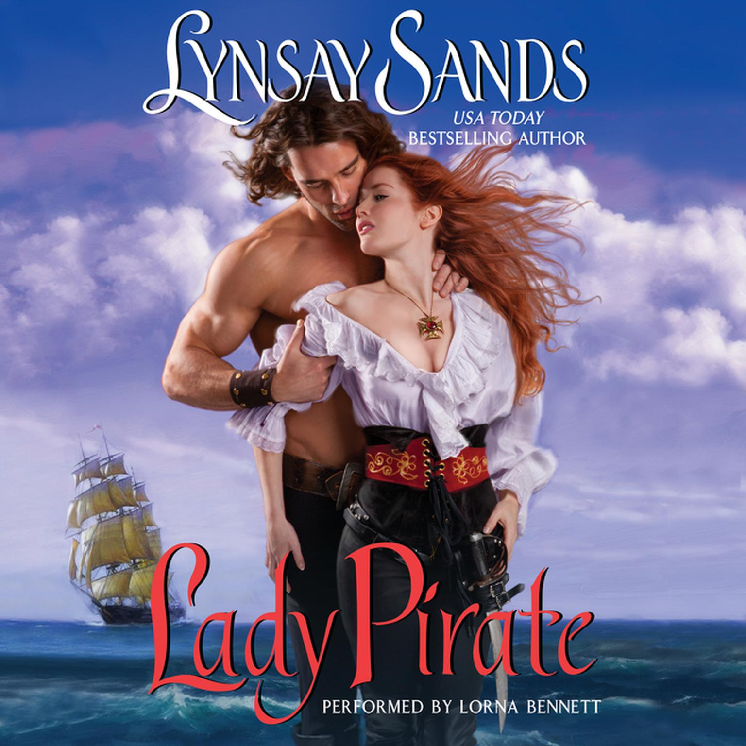 Printable Lady Pirate Audiobook Cover Art