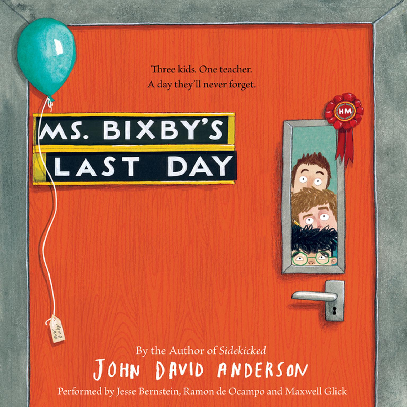 Printable Ms. Bixby's Last Day Audiobook Cover Art