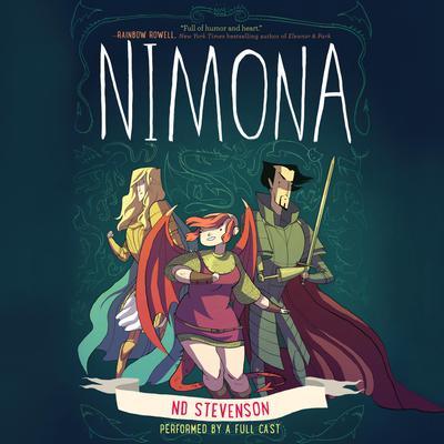 Nimona Audiobook, by Noelle Stevenson