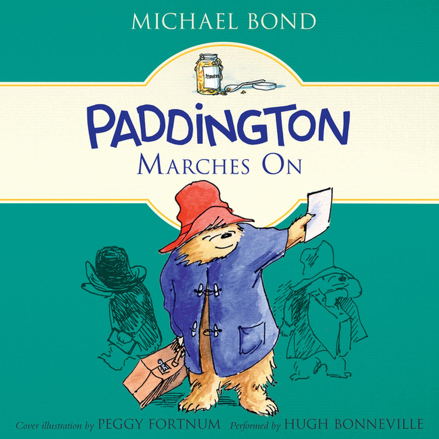 Printable Paddington Marches On Audiobook Cover Art