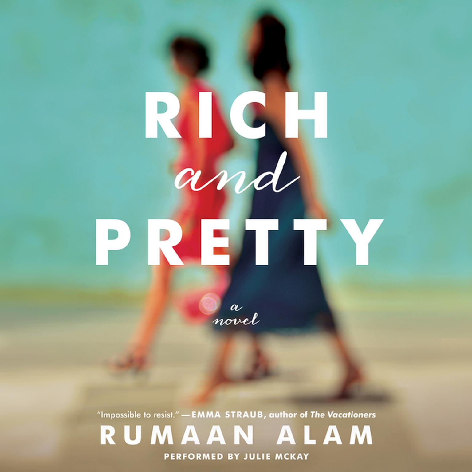 Printable Rich and Pretty: A Novel Audiobook Cover Art