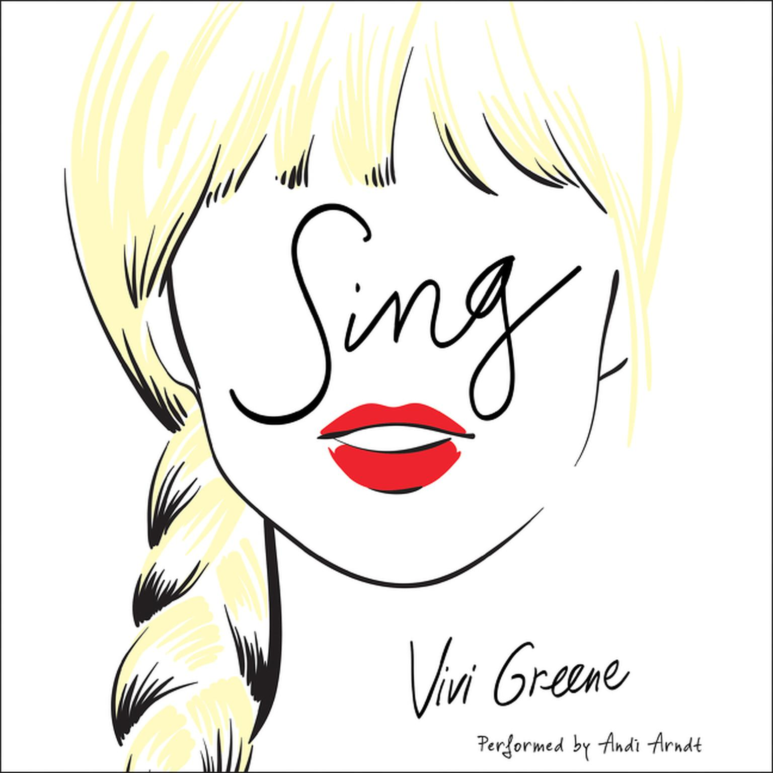 Printable Sing Audiobook Cover Art