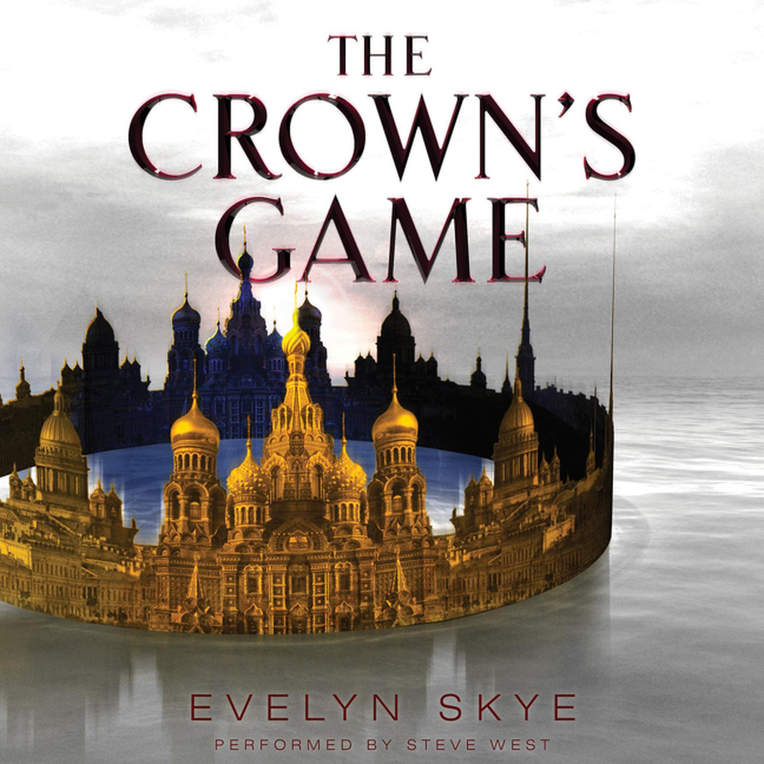 Printable The Crown's Game Audiobook Cover Art