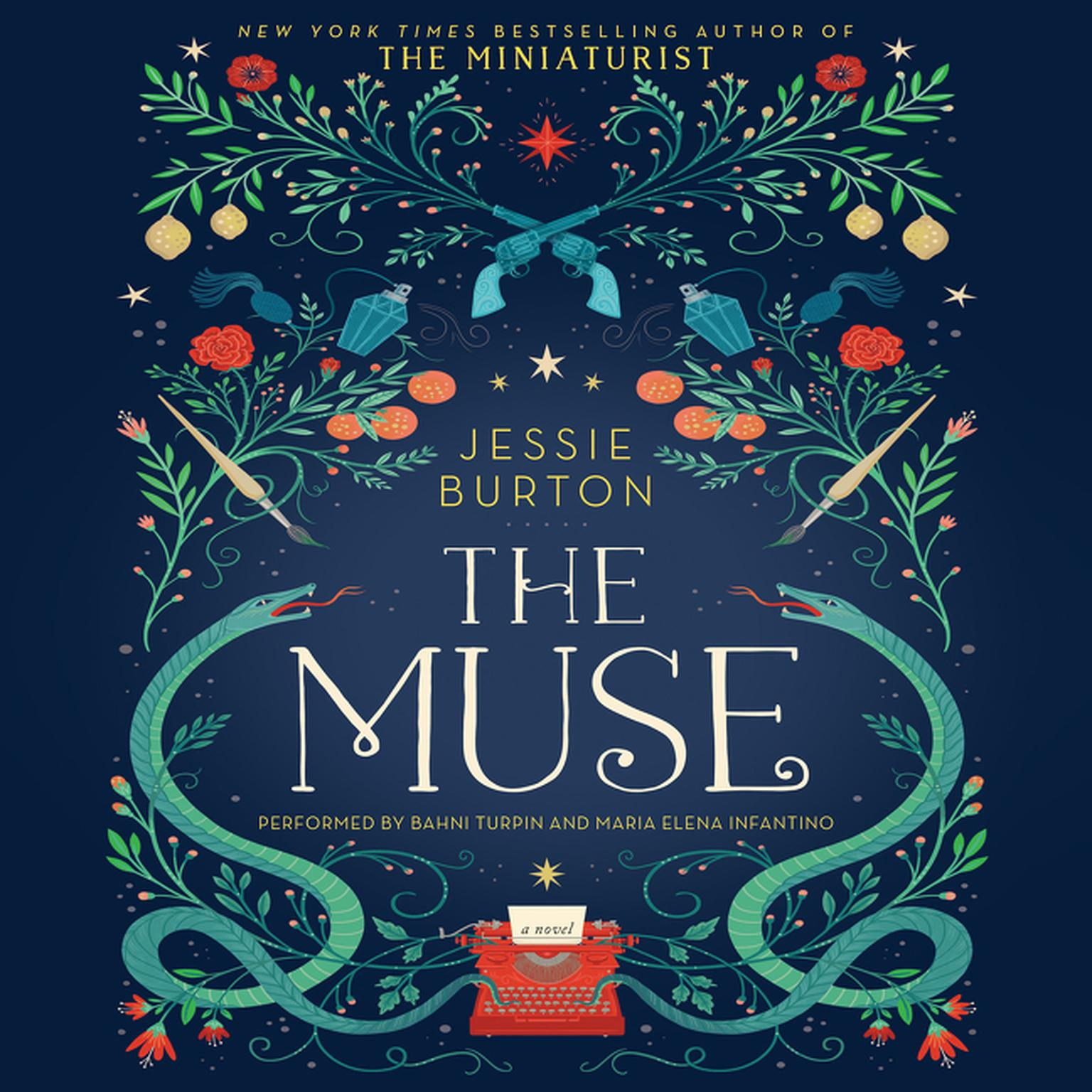 Printable The Muse: A Novel Audiobook Cover Art