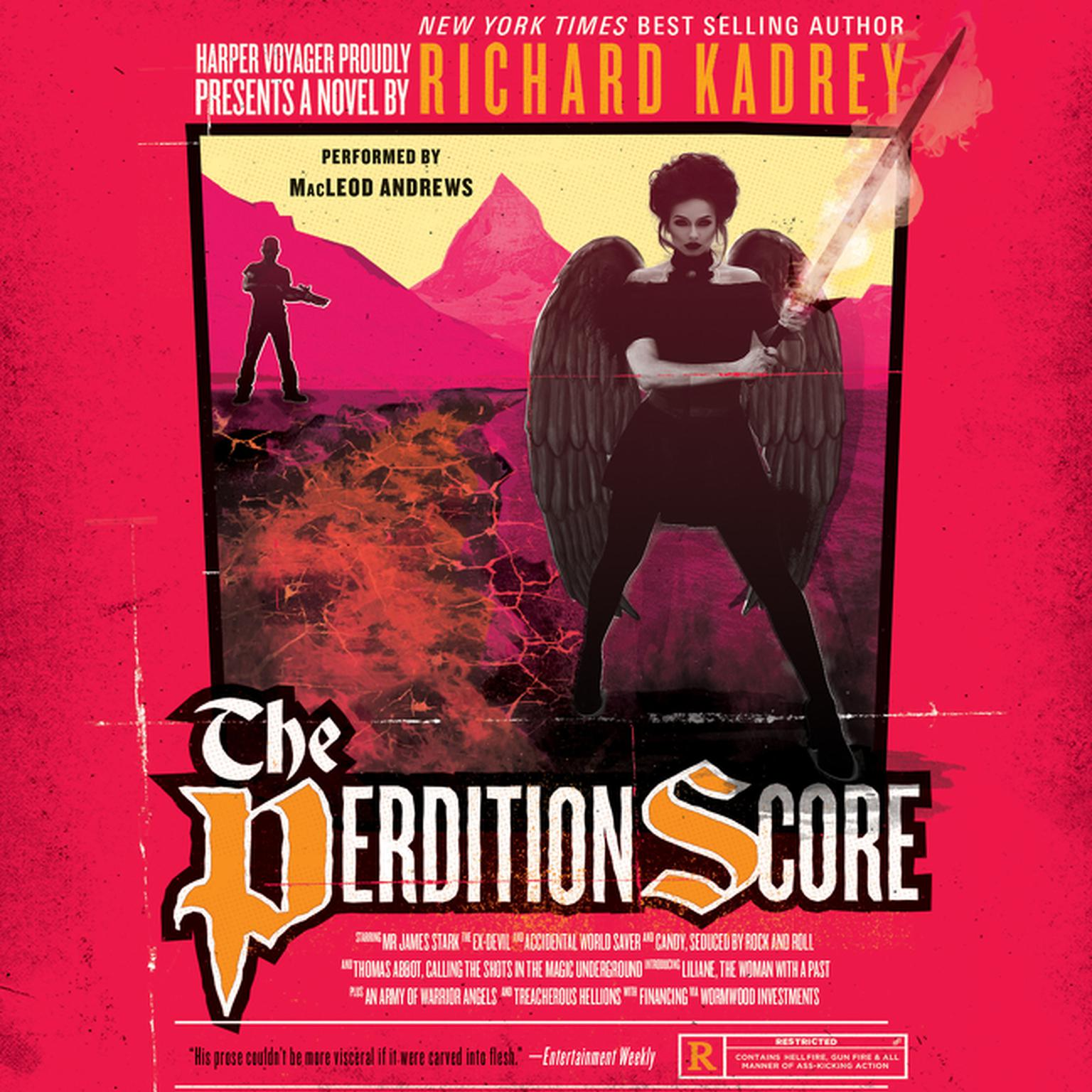 Printable The Perdition Score: A Sandman Slim Novel Audiobook Cover Art