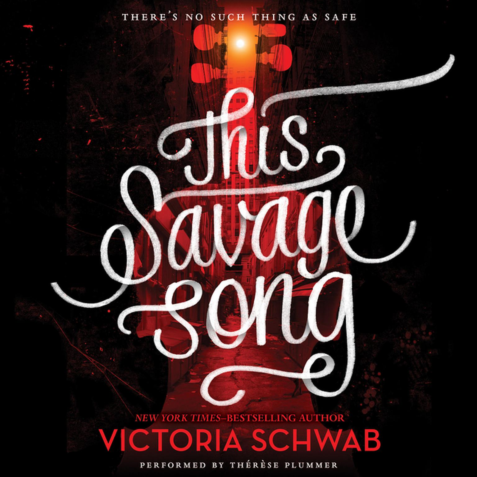 Printable This Savage Song Audiobook Cover Art