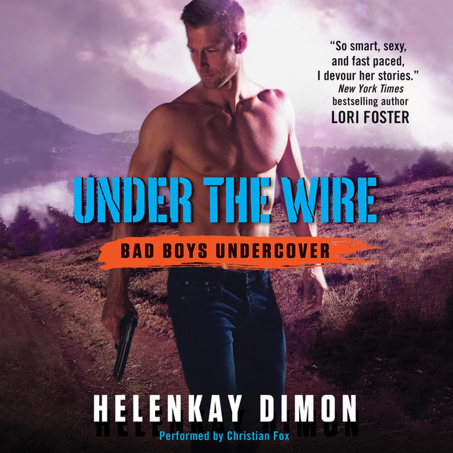 Printable Under the Wire Audiobook Cover Art