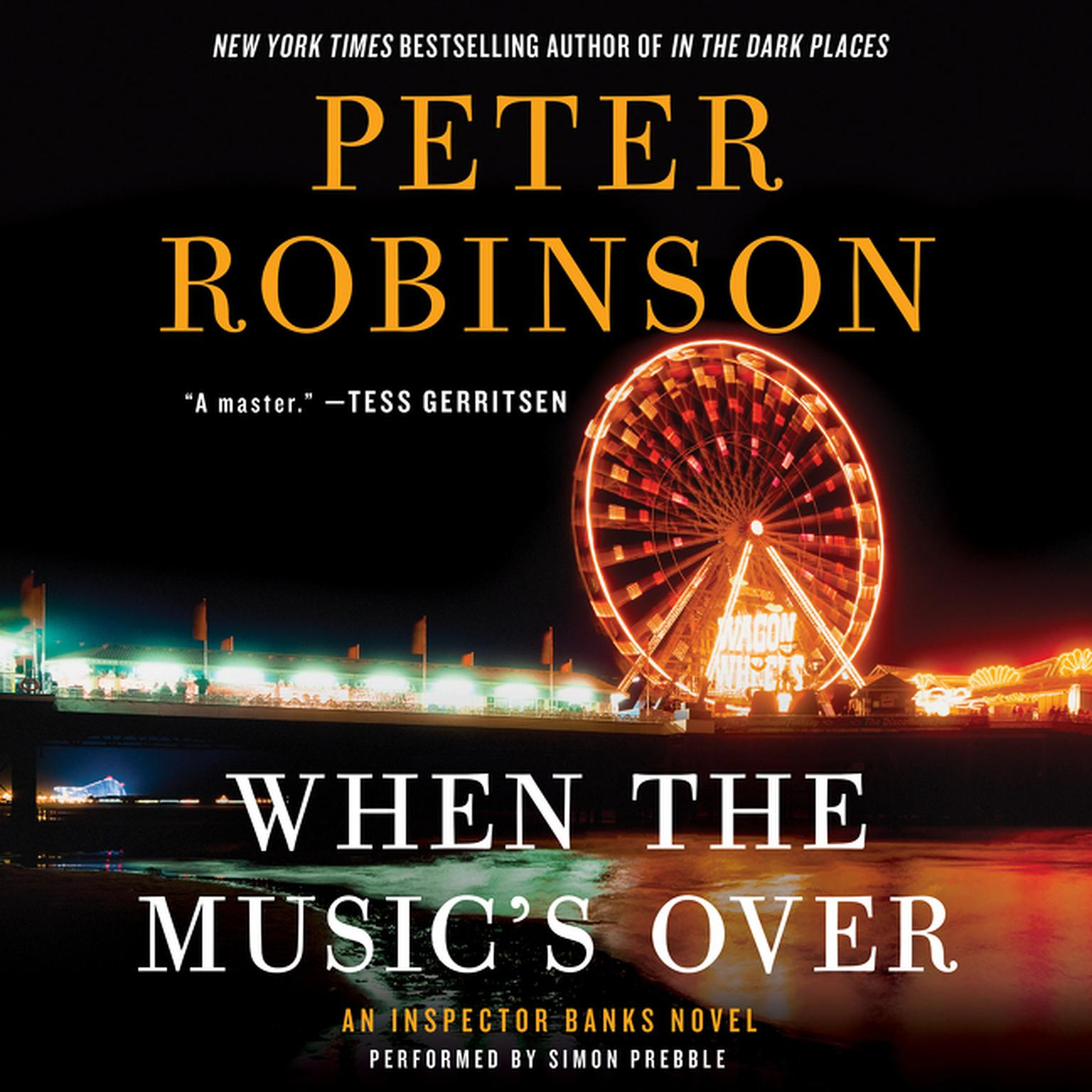 Printable When the Music's Over: An Inspector Banks Novel Audiobook Cover Art