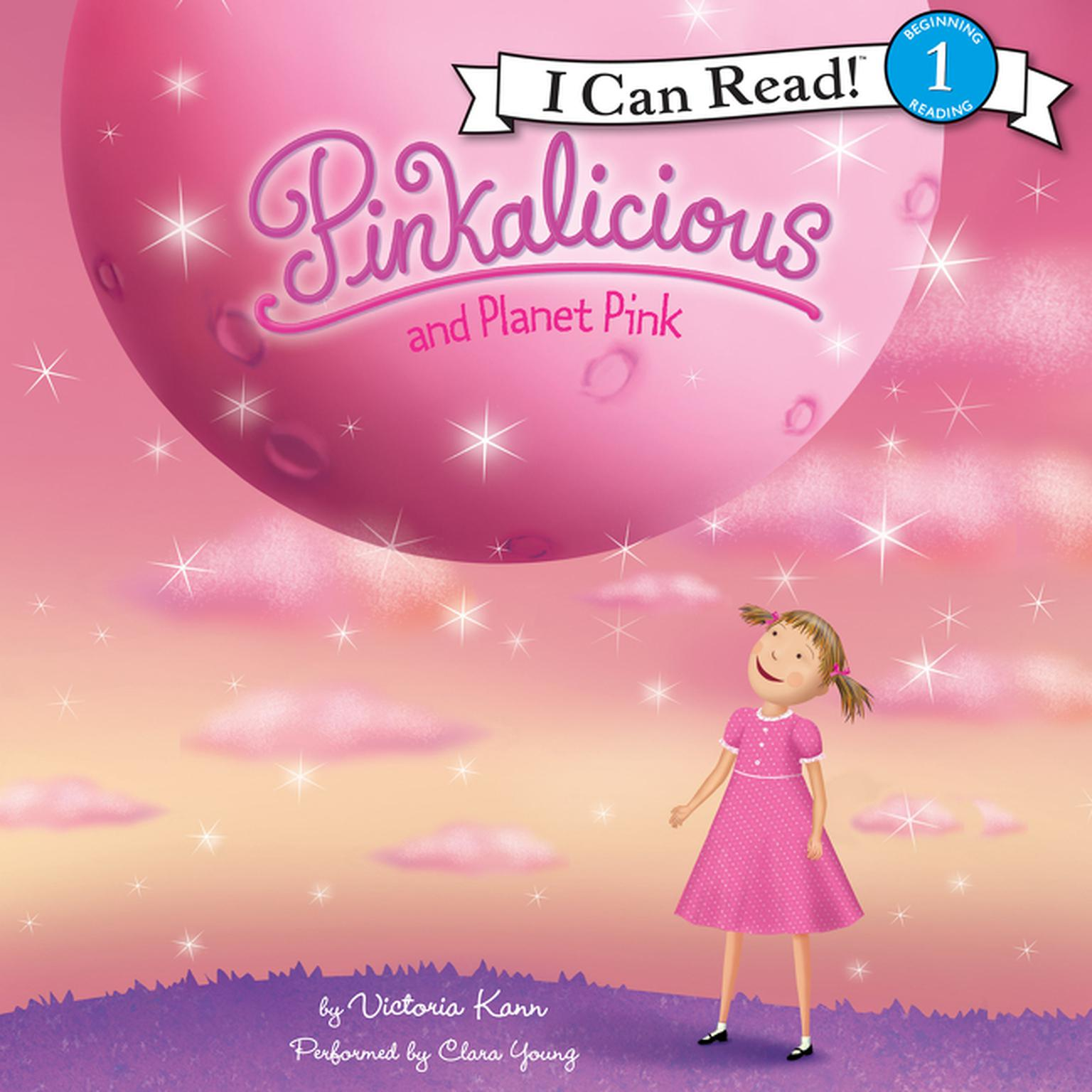 Printable Pinkalicious and Planet Pink Audiobook Cover Art