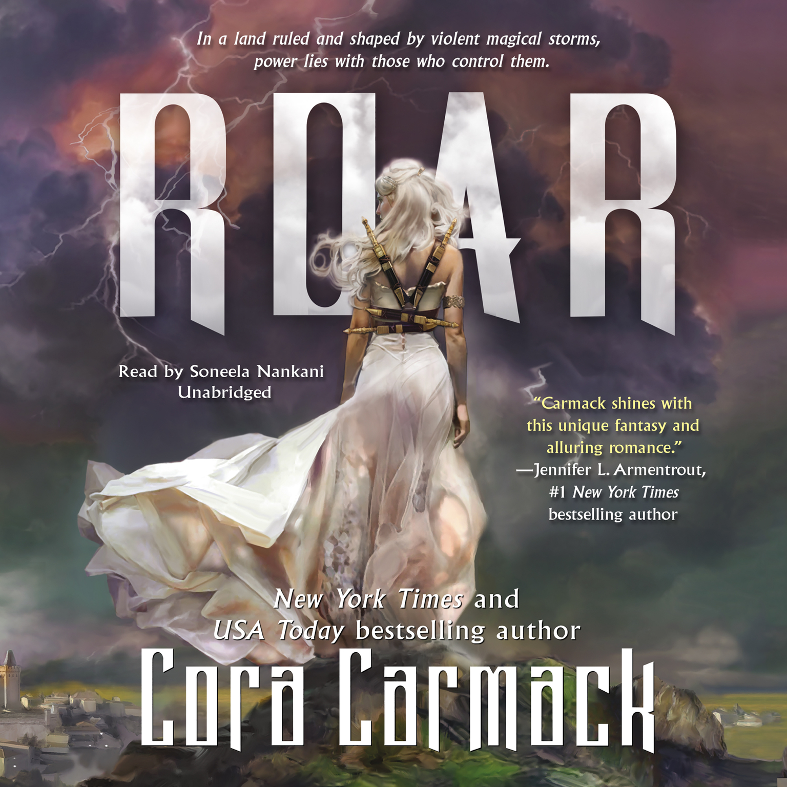 Printable Roar Audiobook Cover Art