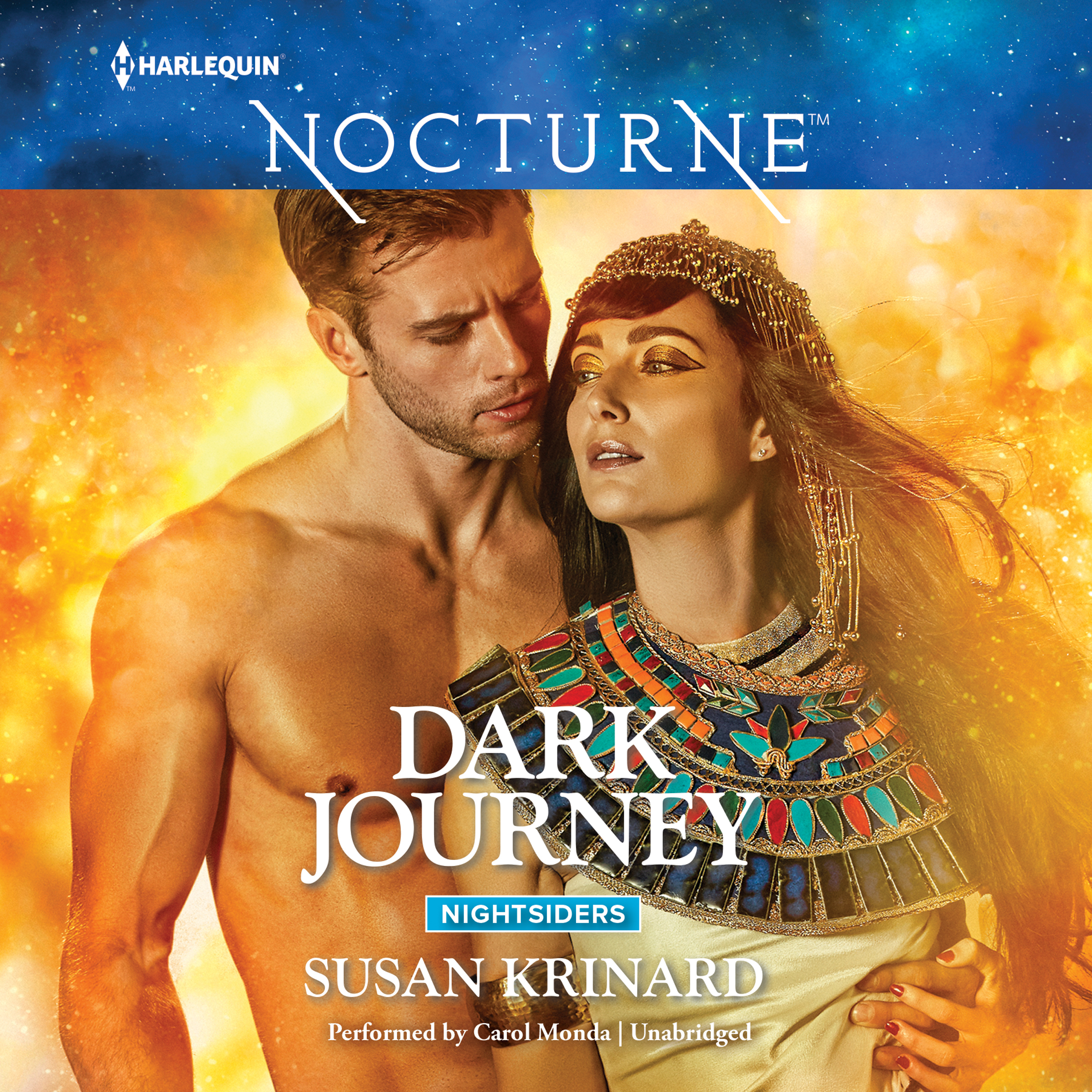 Printable Dark Journey Audiobook Cover Art