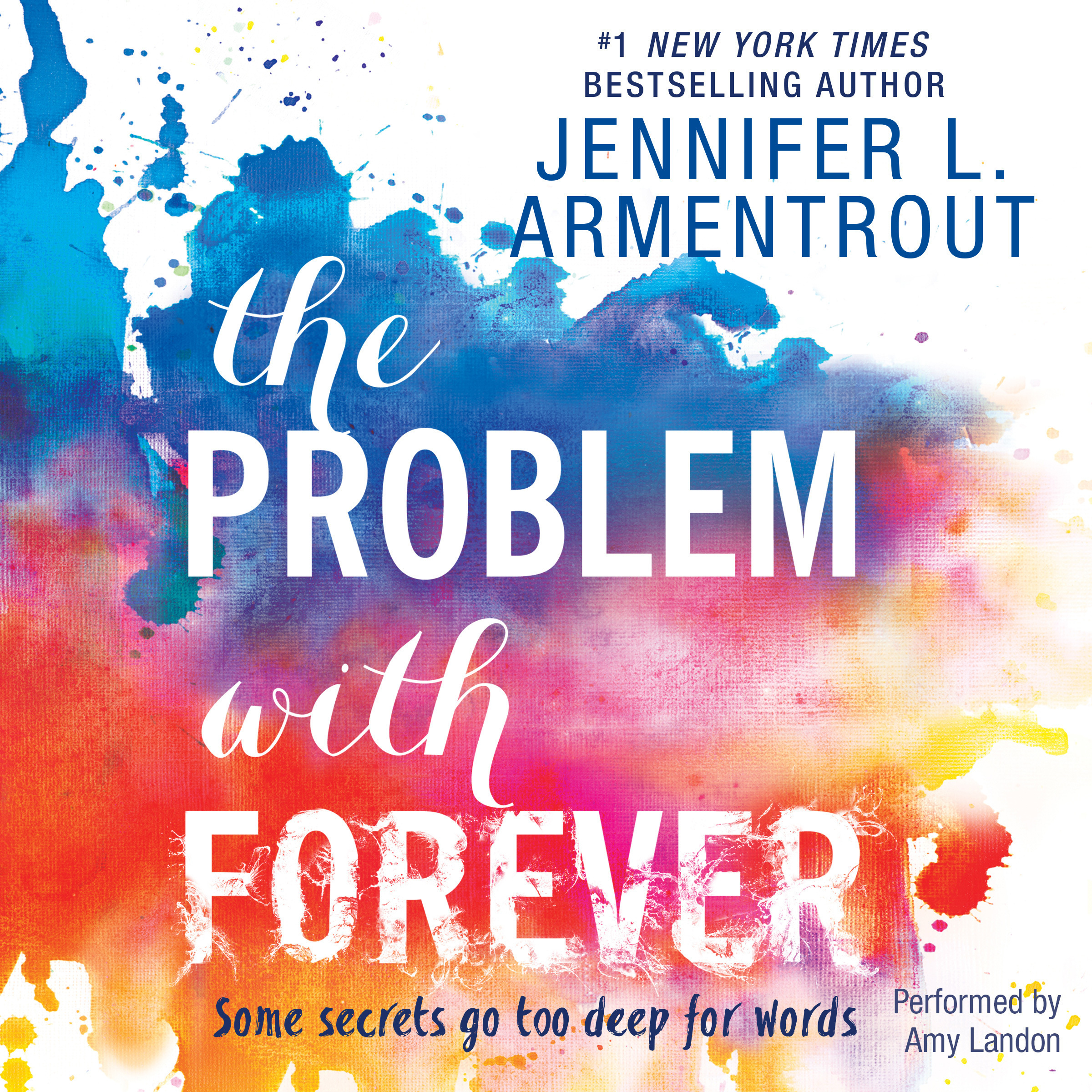 Printable The Problem with Forever Audiobook Cover Art