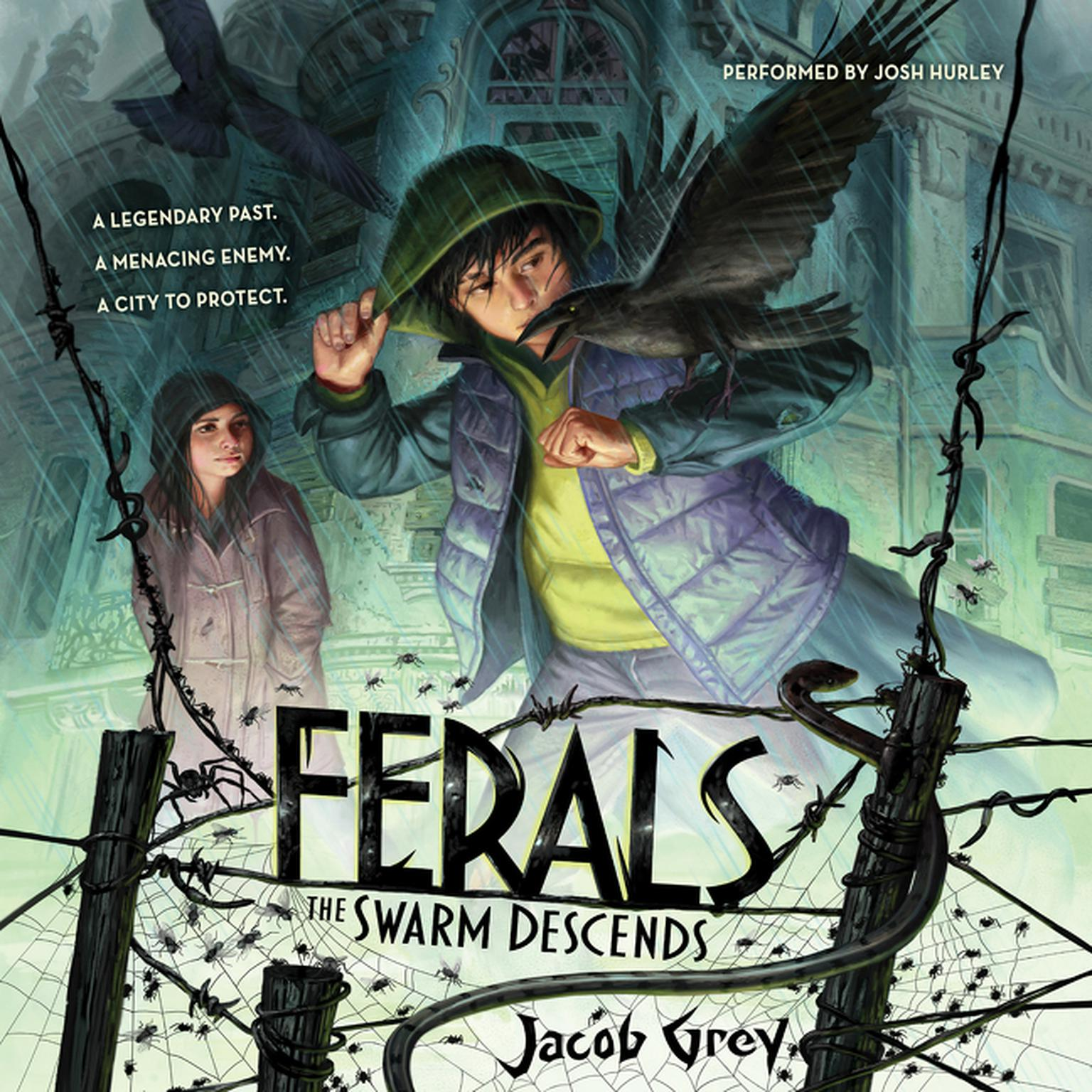 Printable Ferals #2: The Swarm Descends Audiobook Cover Art