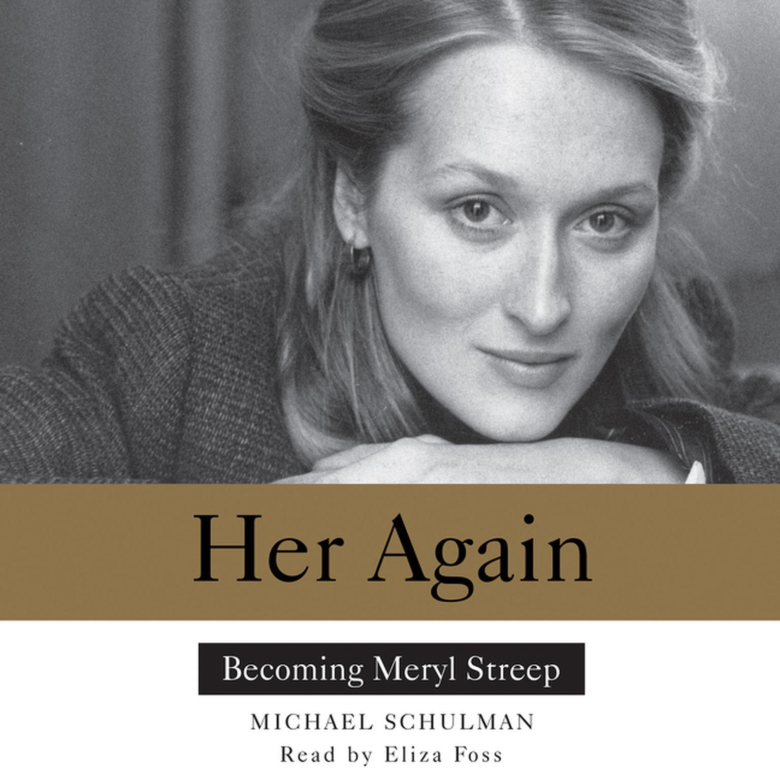 Printable Her Again: Becoming Meryl Streep Audiobook Cover Art