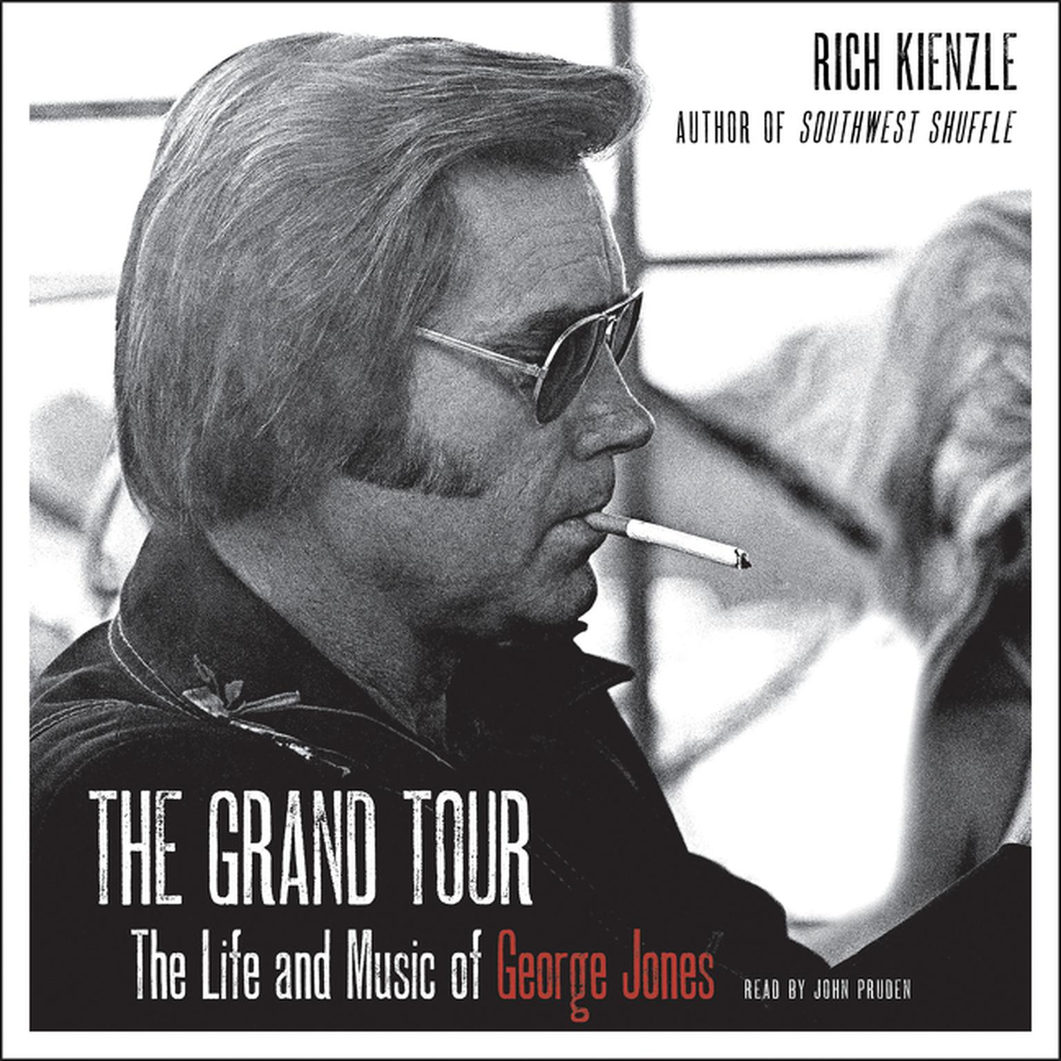 Printable The Grand Tour: The Life and Music of George Jones Audiobook Cover Art
