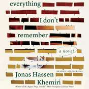 Everything I Dont Remember: A Novel Audiobook, by Jonas Hassen Khemiri