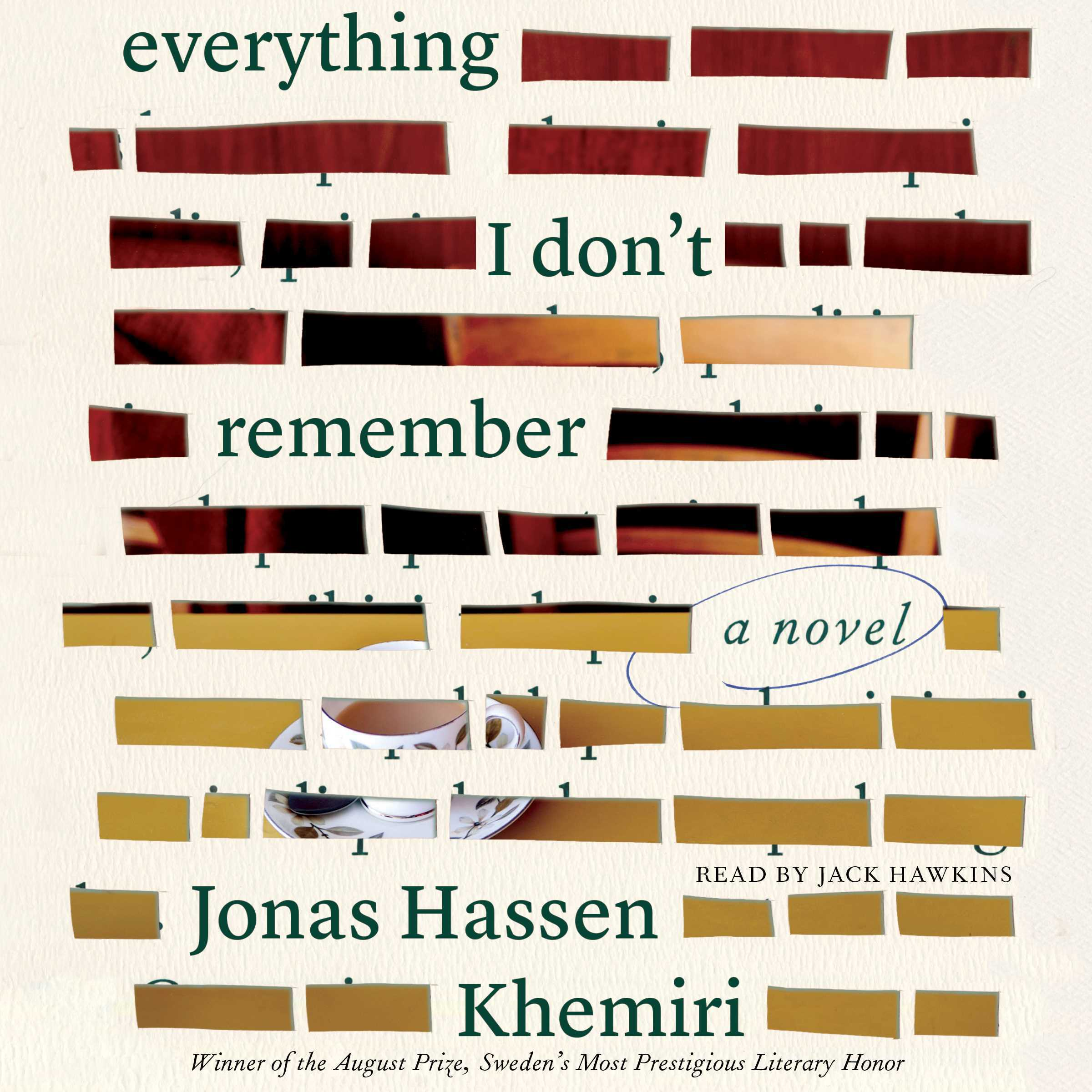 Printable Everything I Don't Remember: A Novel Audiobook Cover Art