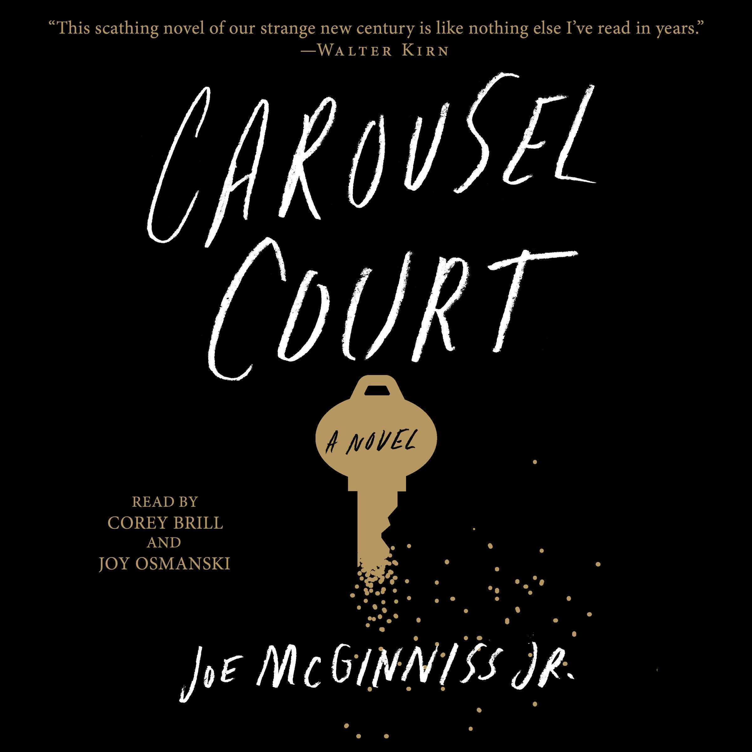 Printable Carousel Court Audiobook Cover Art