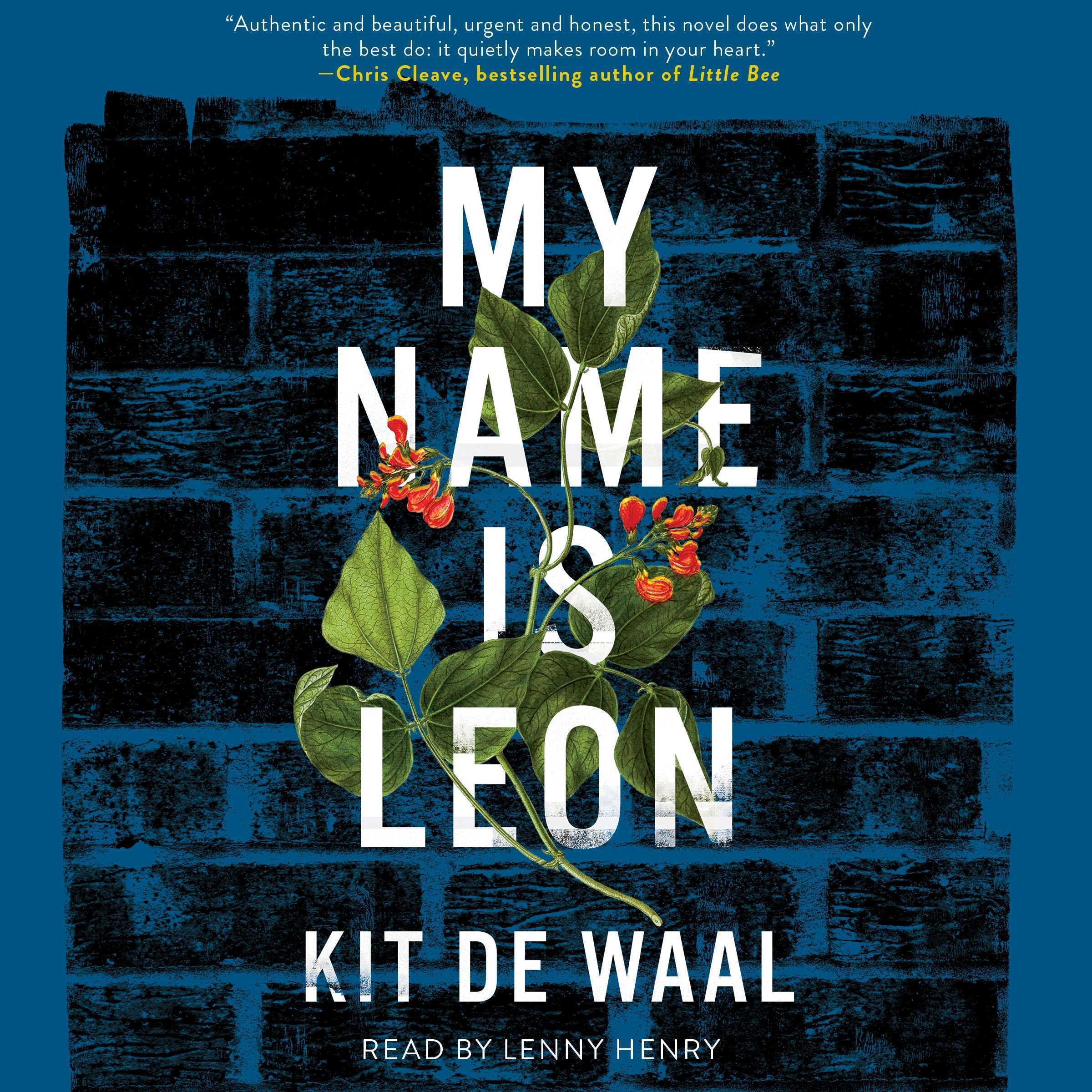 Printable My Name Is Leon Audiobook Cover Art