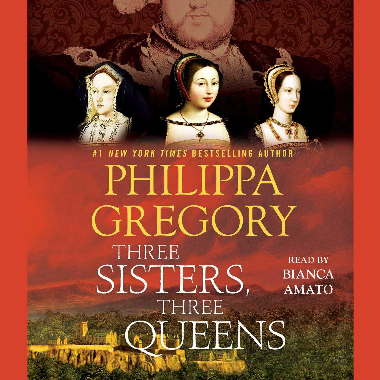 Printable Three Sisters, Three Queens Audiobook Cover Art