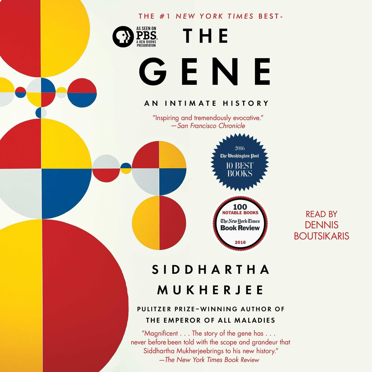 Printable The Gene: An Intimate History Audiobook Cover Art