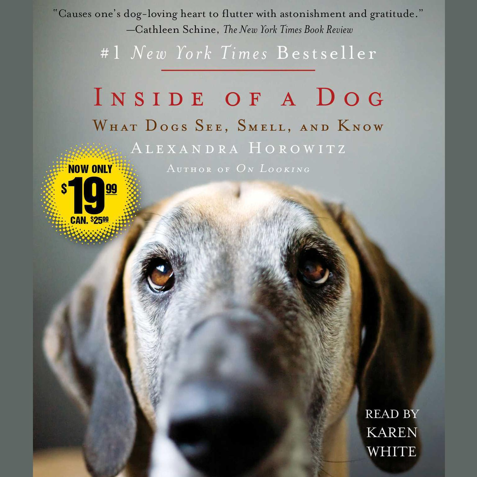 Printable Inside of a Dog: What Dogs See, Smell, and Know Audiobook Cover Art