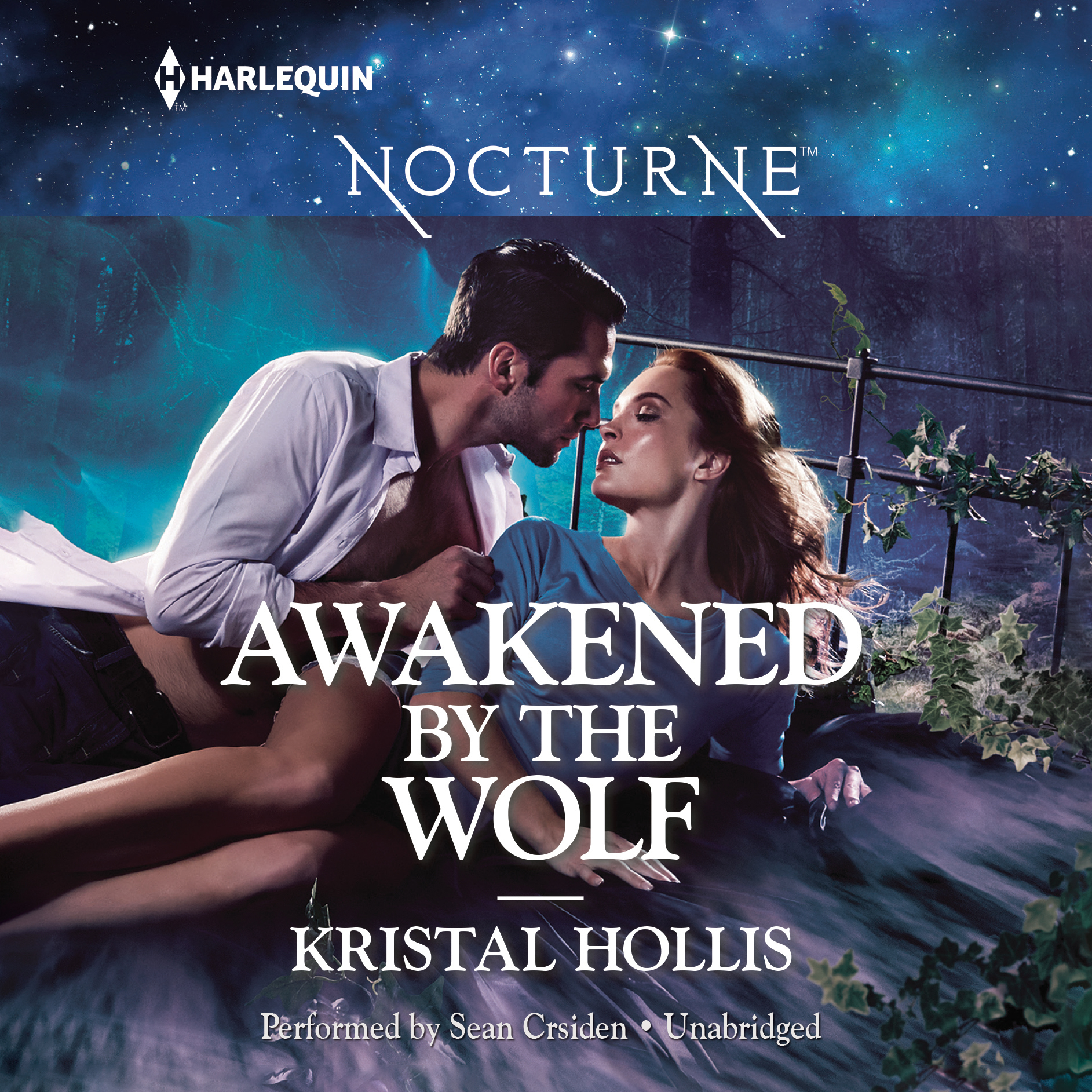 Printable Awakened by the Wolf Audiobook Cover Art