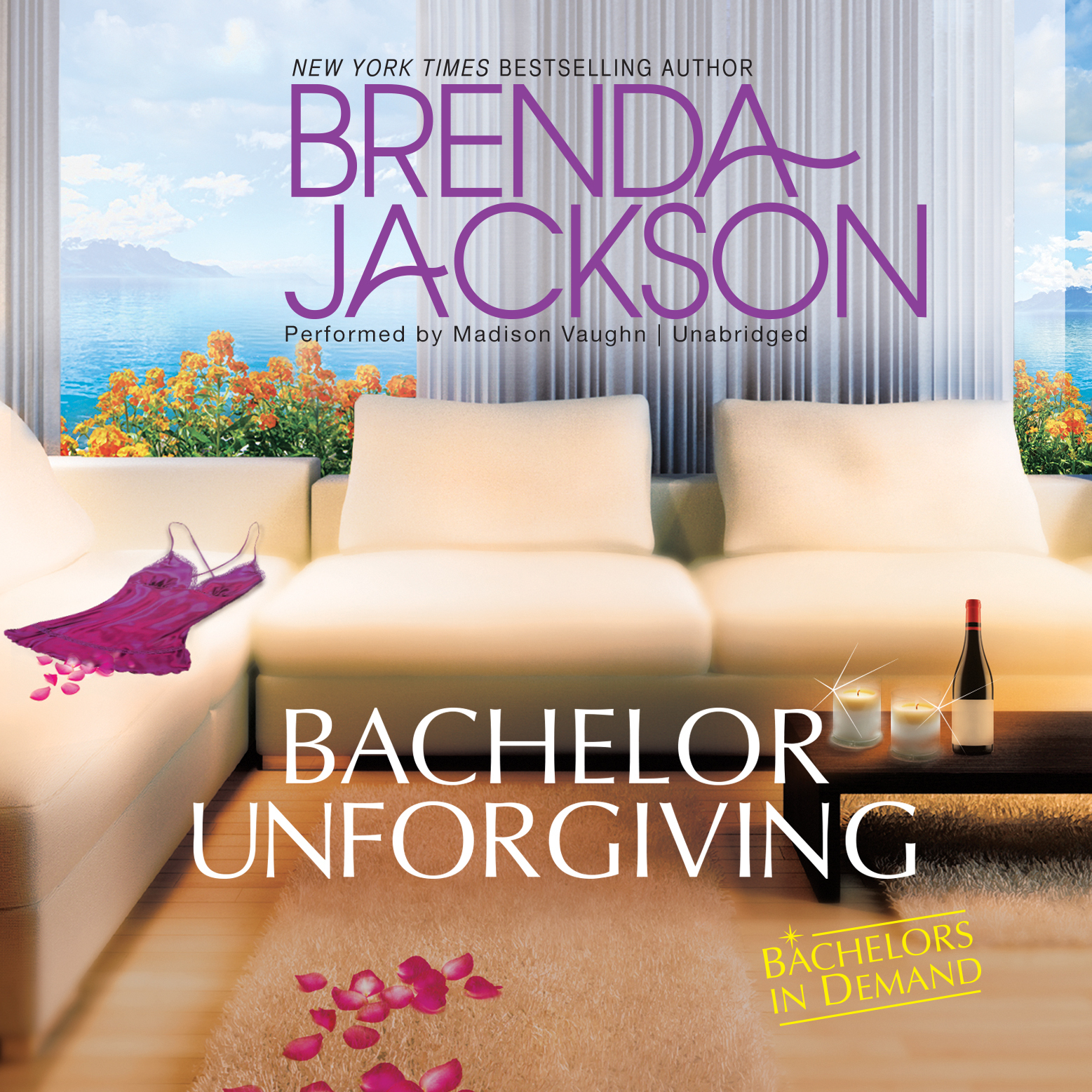 Printable Bachelor Unforgiving Audiobook Cover Art