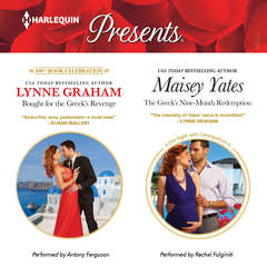 Bought for the Greek's Revenge & The Greek's Nine-Month Redemption Audiobook, by Lynne Graham, Maisey Yates