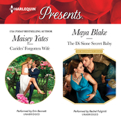 Carides' Forgotten Wife & The Di Sione Secret Baby Audiobook, by Maisey Yates, Maya  Blake