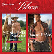 Cowboy All Night & A SEAL's Desire Audiobook, by Vicki Lewis Thompson, Tawny Weber
