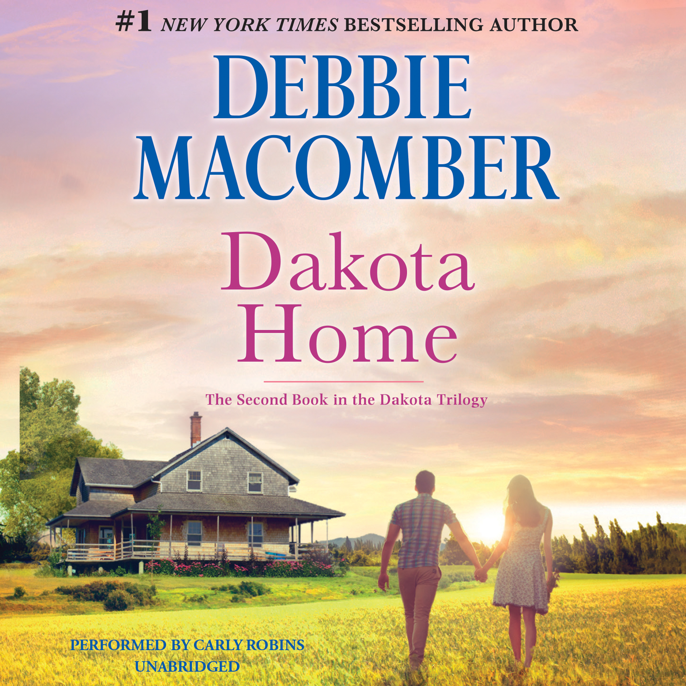 Printable Dakota Home Audiobook Cover Art