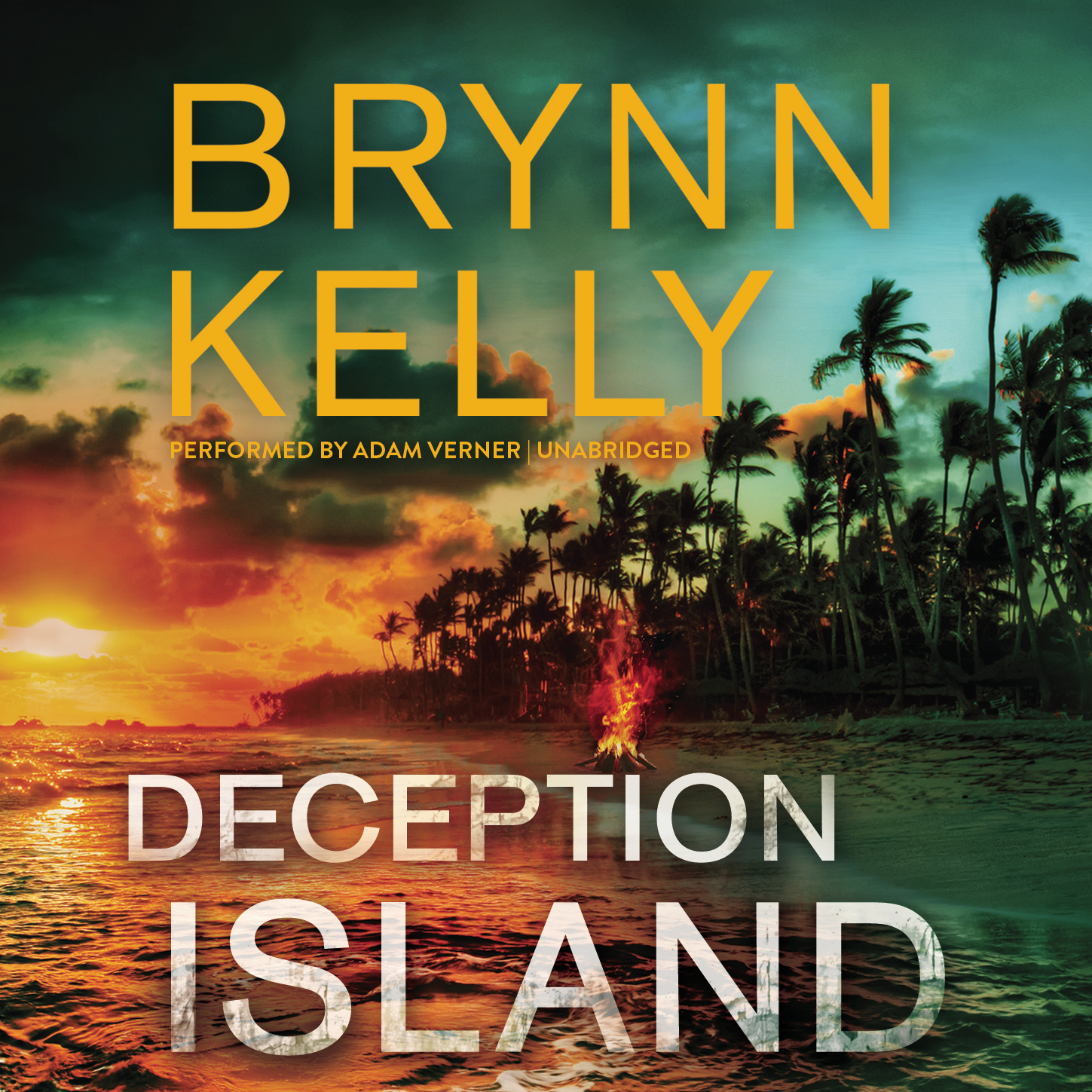 Printable Deception Island Audiobook Cover Art