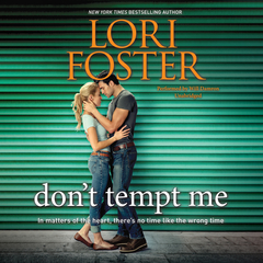 Dont Tempt Me Audiobook, by Lori Foster