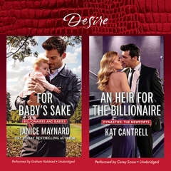 For Baby's Sake & An Heir for the Billionaire Audiobook, by Janice Maynard, Kat Cantrell