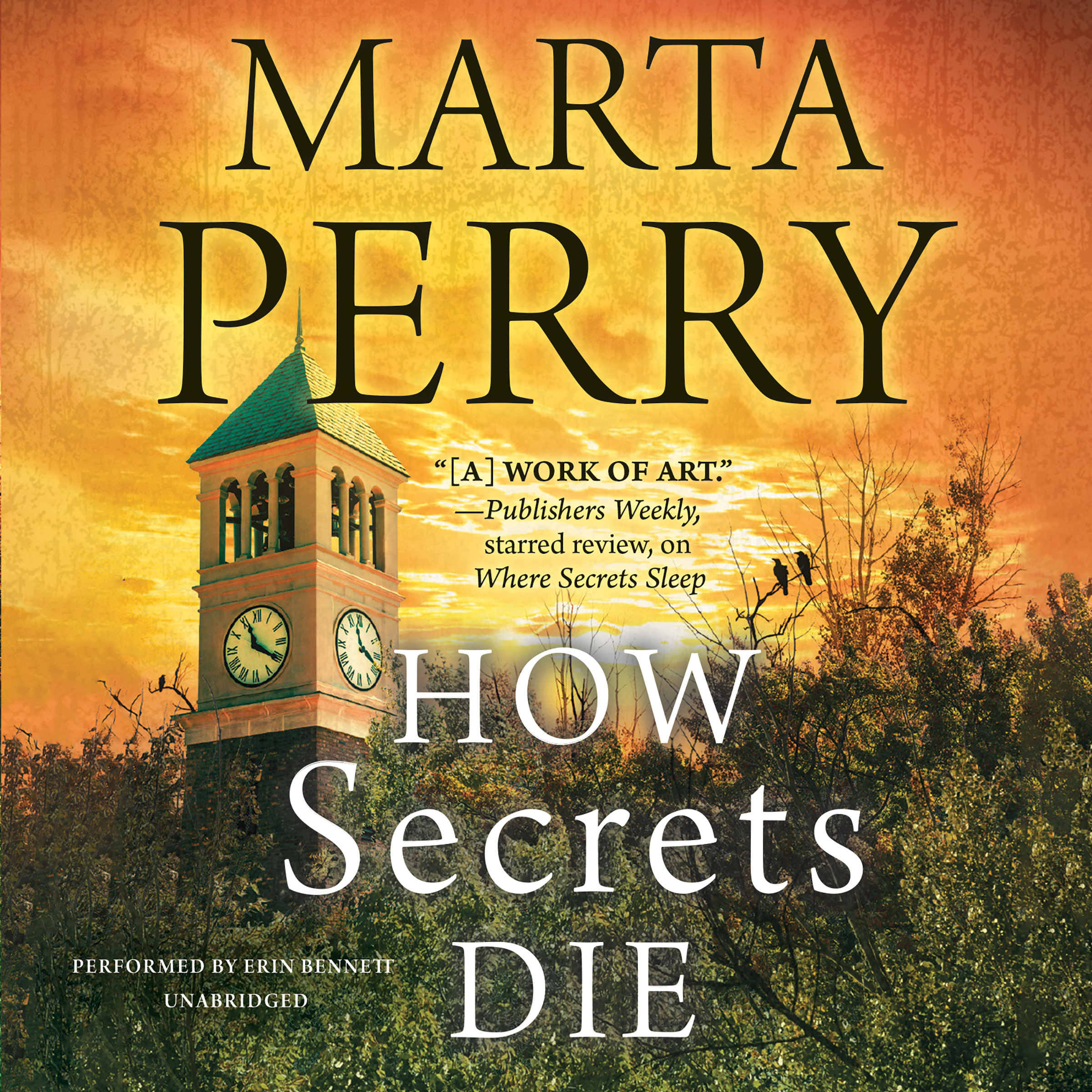 Printable How Secrets Die Audiobook Cover Art